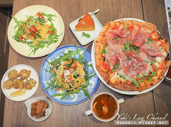 [台北101/世貿美食] BANCO窯烤披薩・自製生麵世貿店:拿坡里披薩世界冠軍主廚指導,好吃窯烤披薩