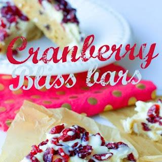 Cranberry Bliss Bars – a Starbucks Copy Cat Recipe!
