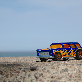 55 Nomad  by Benjamin Howen III - Artistic Objects Toys ( car, wagon, beach, die-cast, 50's )