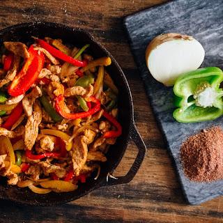 Spicy Chicken Fajitas