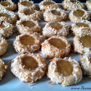 Whole Wheat Thumbprint Cookie.