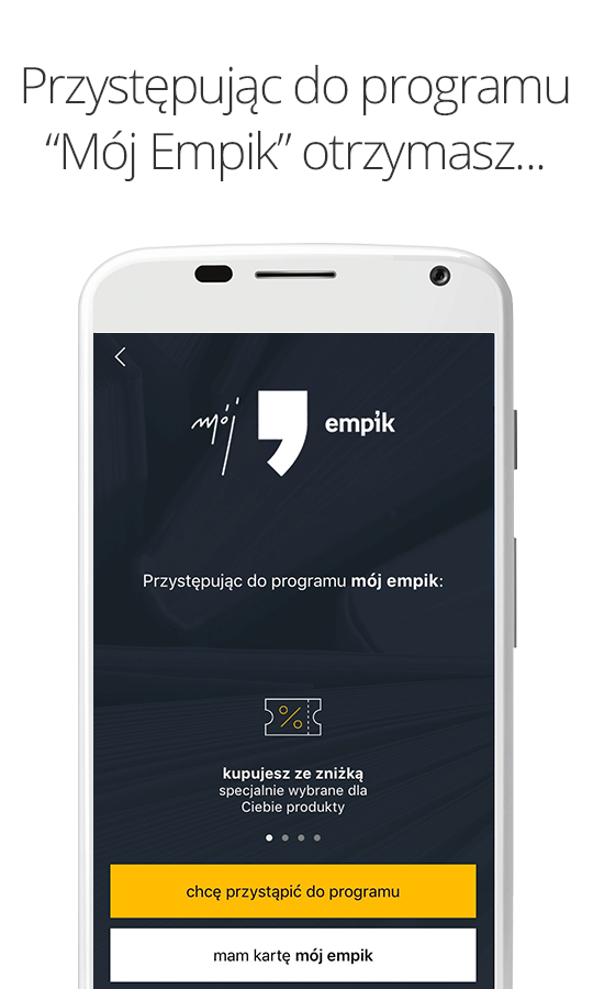 Empik- screenshot