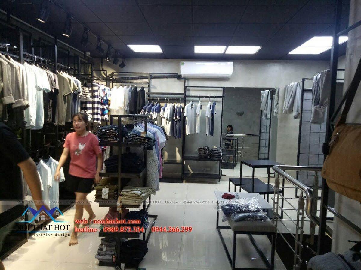 thiết kế shop thời trang nam H2T 29