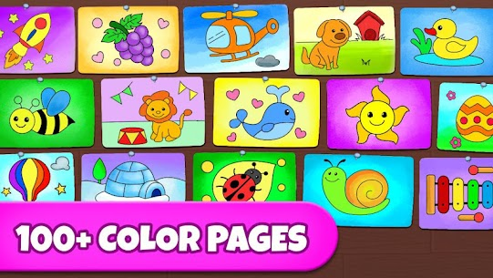 Coloring Games: Coloring Book, Painting, Glow Draw 4