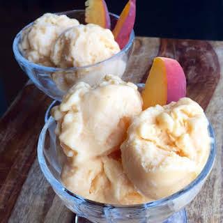 Peach Ice Cream.