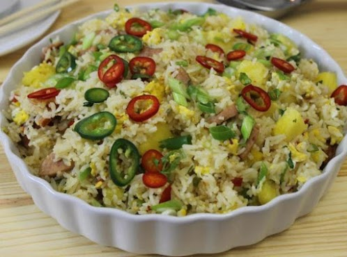 Click Here for Recipe: Thai Pineapple Fried with Smoked Sausage
