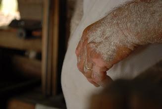 Photo: Mãos do mestre farinheiro