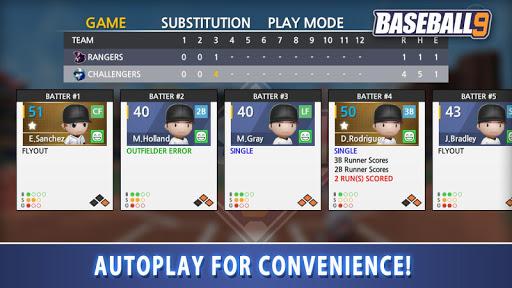 BASEBALL 9 1.1.3 screenshots 5