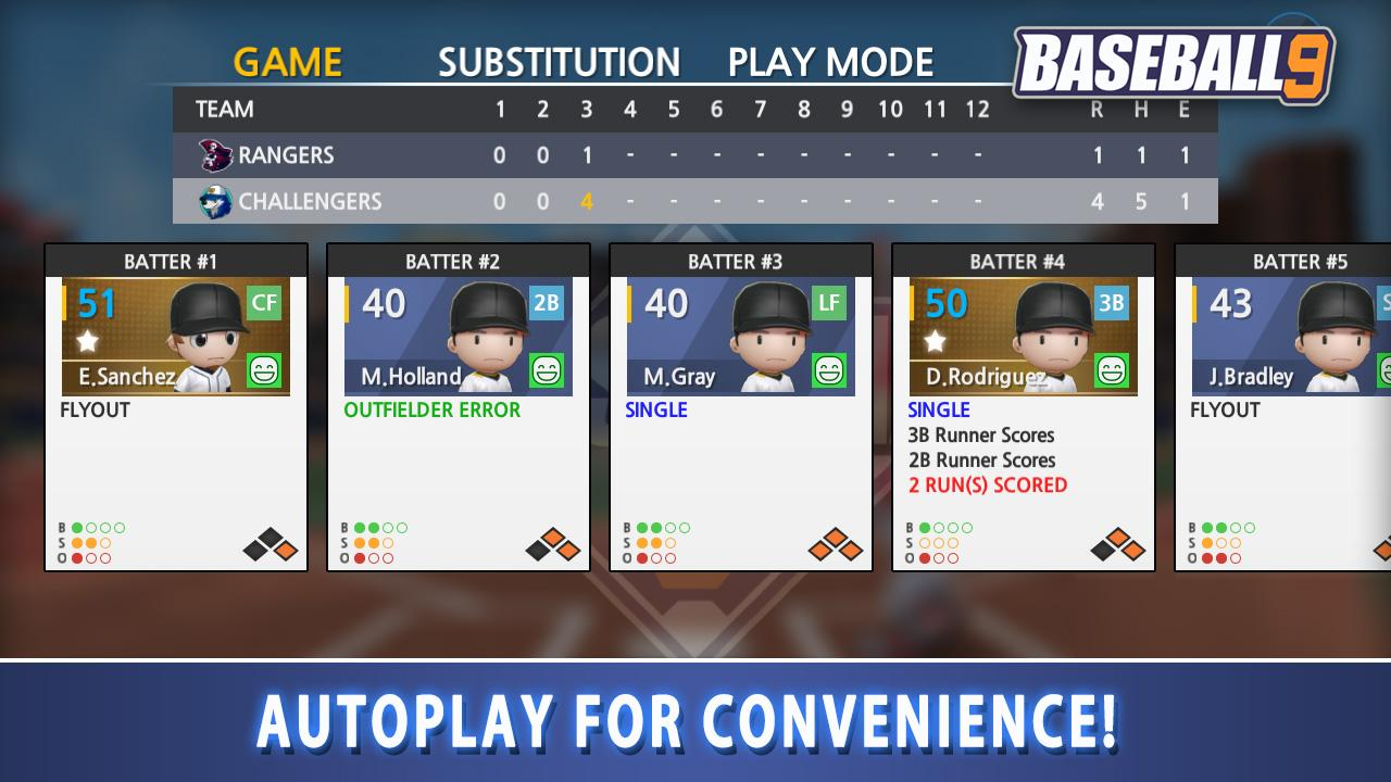 BASEBALL 9 MOD (Unlimited Gems/Coins/Resources) 4