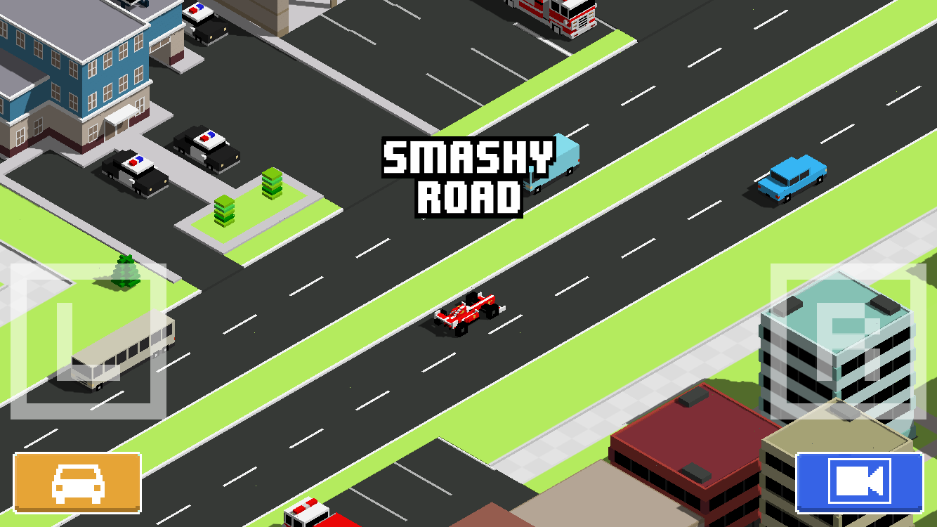 Smashy Road: Wanted: captura de pantalla