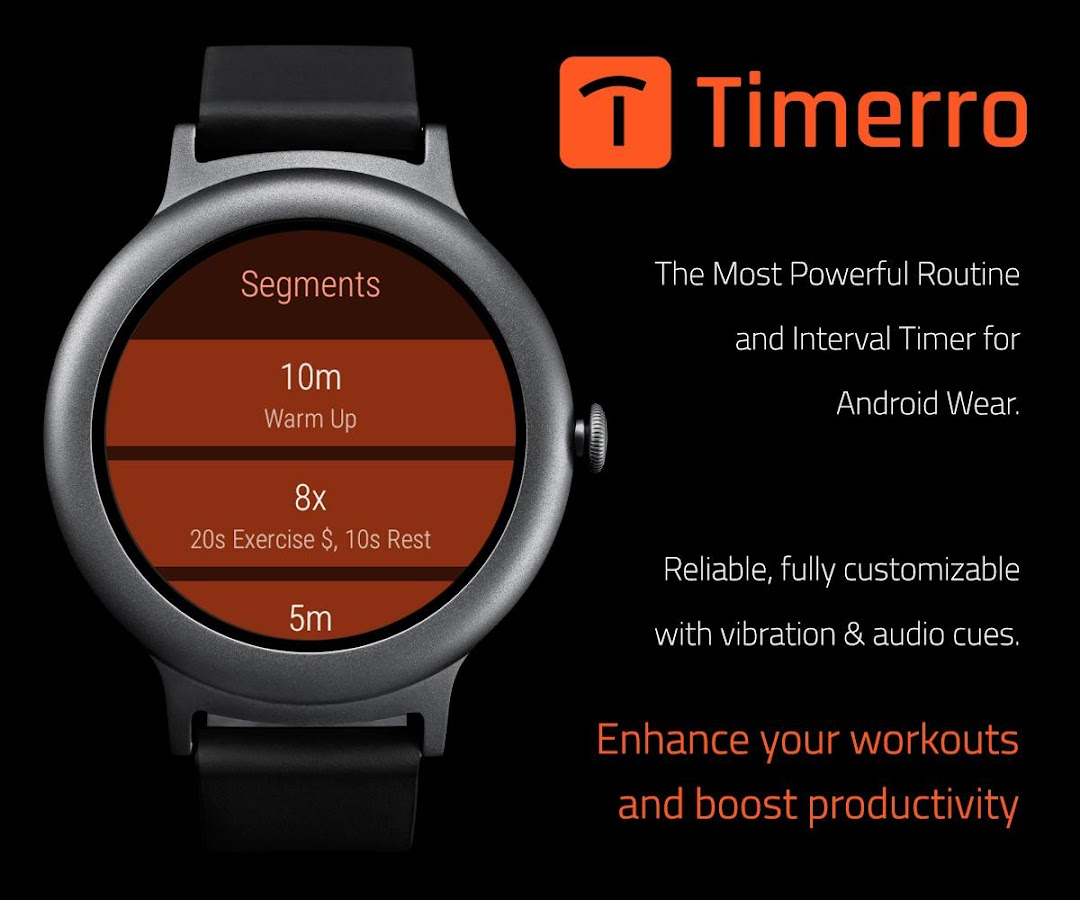 Timerro - Interval Timer- screenshot