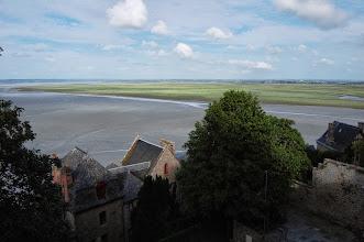 Photo: BRETANYA 2013. MONT SAINT-MICHEL (Normandia ). comença la marea alta.