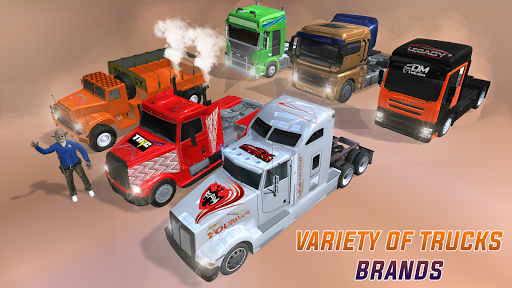 World Heavy Cargo Truck: New Truck Games 2020 0.1 screenshots 4