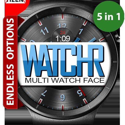 WatchR - Multi Watch Face