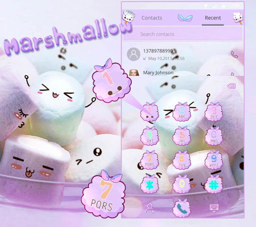 Marshmallow Candy Theme Icon Pack ss2
