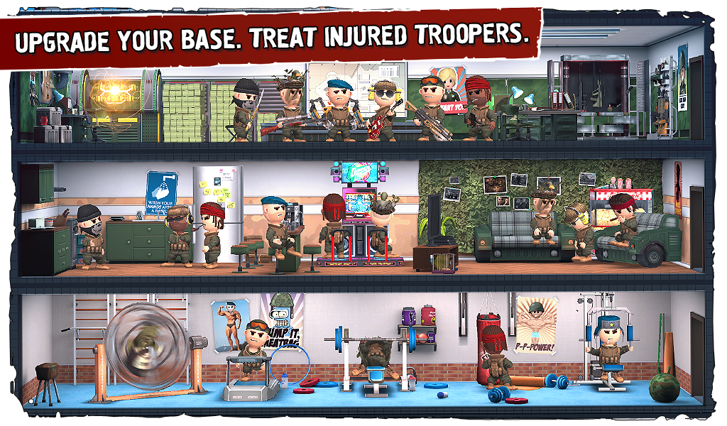 Screenshots of Pocket Troops for iPhone