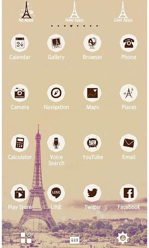 Eiffel Tower Theme-Paris sky- 1.0.1 Windows u7528 7
