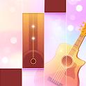 Magic Piano & Guitar Tiles - Piano Game 2019 icon