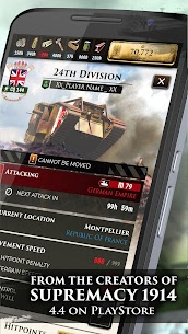 Supremacy 1 Apk Mod +OBB/Data [The Great War Strategy Game] 2