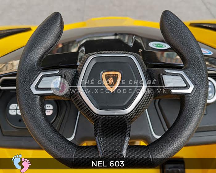 xe ô tô điện trẻ em Lamborghini NEL-603 22