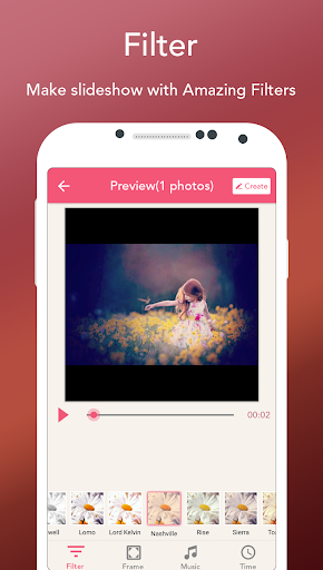 Photo Slideshow with Music - Song Movie Maker 14.0 screenshots 3