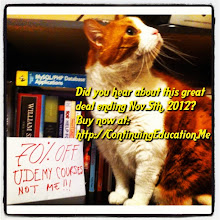 Photo: Did you hear about this great Udemy deal ending Nov. 5th, 2012? Buy now 70% off at ContinuingEducation.Me #intercer #cat #pet #cats #pets #meow #petsofinstagram #beautiful #cute #cutie #animal #picpets #sweet #kitty #kitten #catlovers #learn #education #continue #school #teach #books #programming #learning #college #udemy - via Instagram, http://instagr.am/p/RoLUDYJfoS/