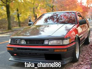 カローラレビン AE86 GT-APEXのカスタム事例画像 taka_channel86さんの2018年11月25日21:21の投稿