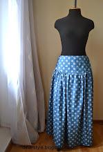 Photo: юбка в пол из летнего джинса