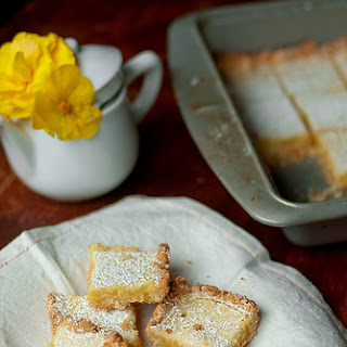 Lemongrass and Coconut Shortbread Bars