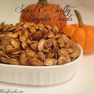 Sweet and Salty Pumpkin Seeds Recipe