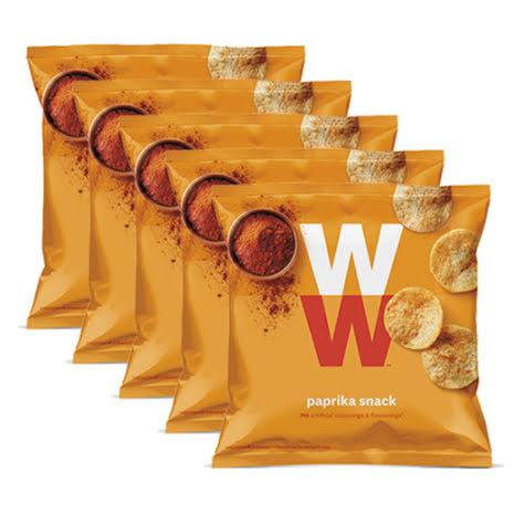 Chips med paprikasmak - 5-pack, 100g