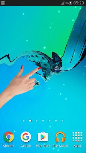 Galaxy Water Live Wallpaper  screenshots 4