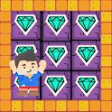 Gem Pusher Puzzles - Transportation Game icon