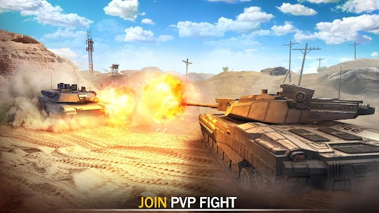 Tank Force: Modern Military Games Mod Apk (One Hit Kill) 3