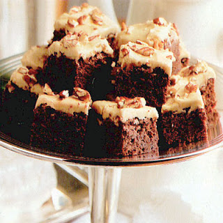 Praline-Iced Brownies
