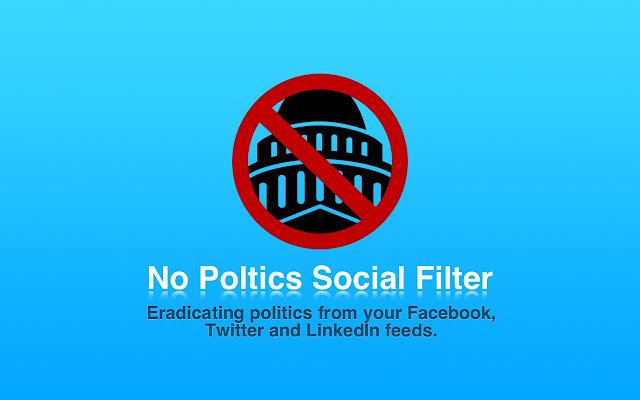 No Politics Social Filter