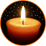 Night Candle : relaxation, sleep, meditation Icon