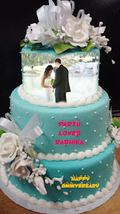 Name Photo On Anniversary Cake Android Apps On Google Play