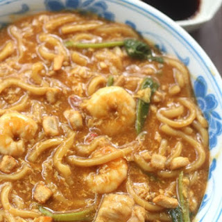 Ulu Yam Loh Mee (Braised vinegar noodles soup) 烏魯音卤麵