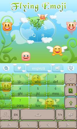 Flying Emoji GO Keyboard Theme 3.87 screenshot 662628