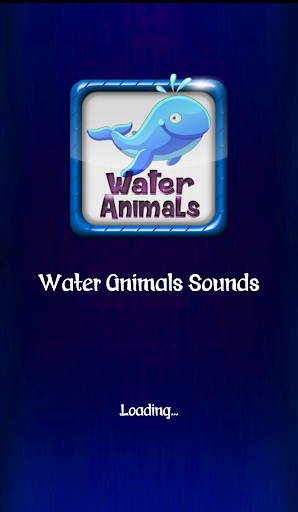 Water Animals Sounds Ringtones