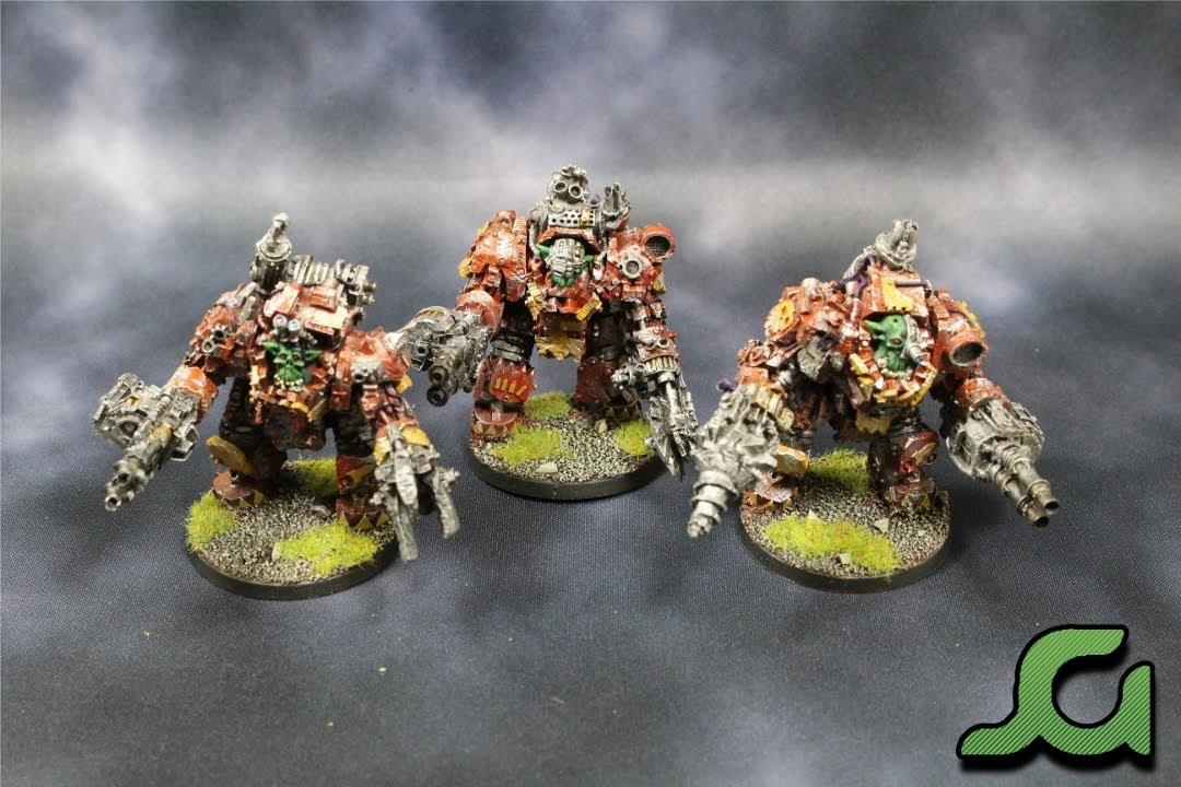 Mega Armoured Nobz Squad