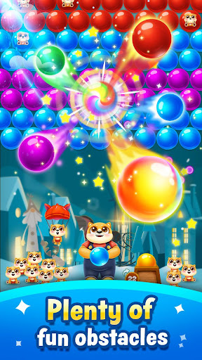 Bubble Shooter - save little puppys  screenshots 3