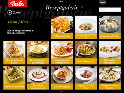 Fissler Cooking App- screenshot thumbnail