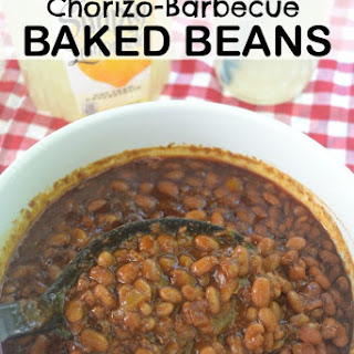 Slow Cooker Chorizo-Barbecue Baked Beans