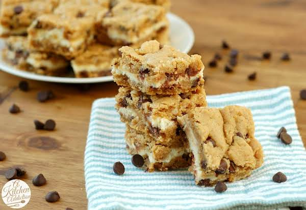 Peanut Butter & Chocolate Chip Cream Cheese Cookie