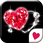 Cute wallpaper★Ruby Heart