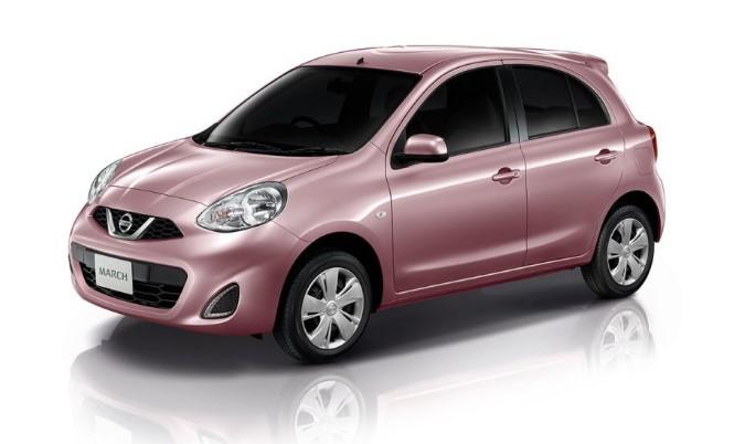 รถยนต์ Nissan March EL CVT มีทั้งหมด 7 สี 02