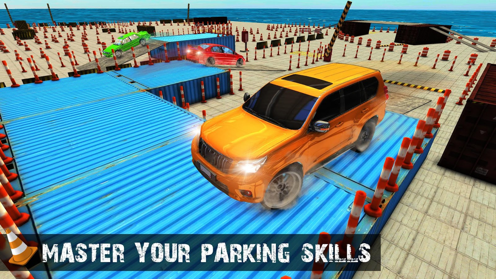 Modern Mania Luxury Prado Parking Simulator 18- screenshot