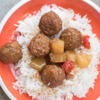 Instant Pot Hawaiian Meatballs.